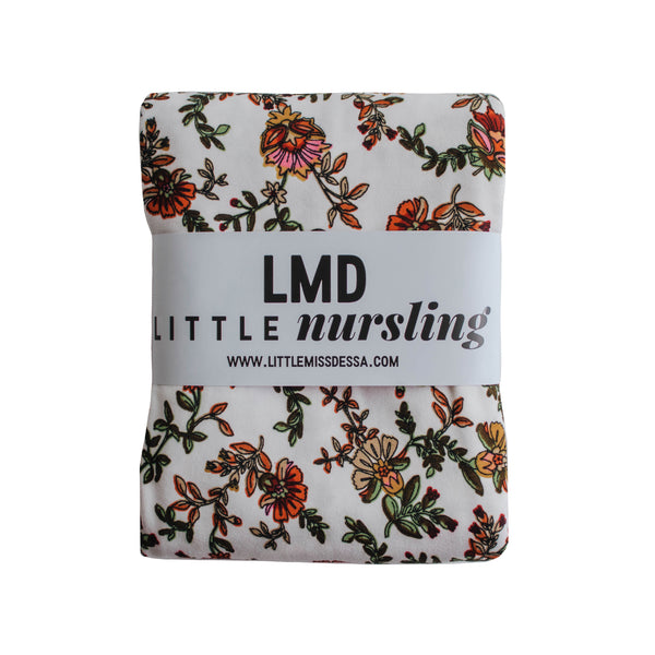 Little Nursling™ Knit Jersey Swaddle Baby Blanket | Holiday Floral