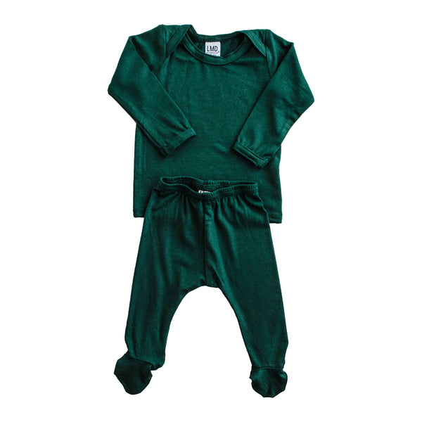 LITTLE NURSLING™ ESSENTIAL SNUGGLE SET | HUNTER GREEN