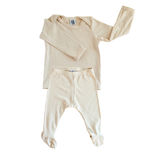 Little Nursling™ Essential Snuggle Set | Ivory Rib