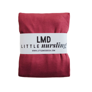 Little Nursling™ Knit Jersey Swaddle Baby Blanket | Marsala - LITTLEMISSDESSA