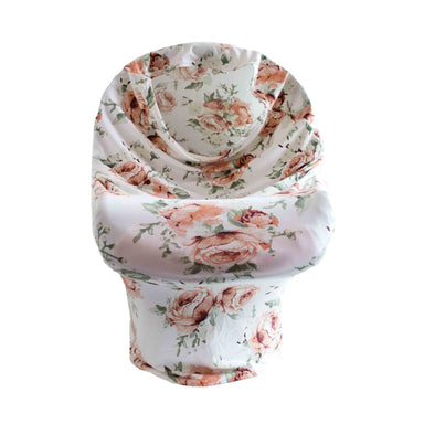 Little Nursling™ Multi-Use Cover | Peach Peony - LITTLEMISSDESSA