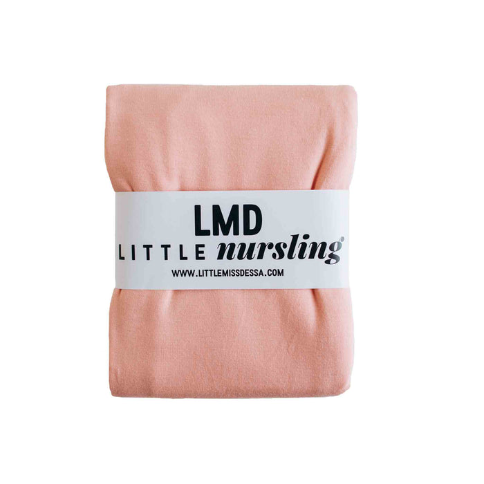 Little Nursling™ Knit Jersey Swaddle Baby Blanket | Peach Tulip