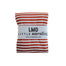 Little Nursling™ Knit Jersey Swaddle Baby Blanket | Scarlet & Ivory Stripe - LITTLEMISSDESSA