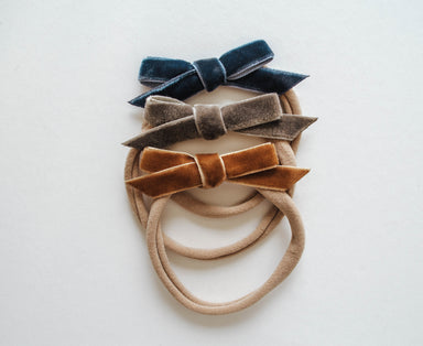 Dainty Bow Headband Set | Sienna - LITTLEMISSDESSA