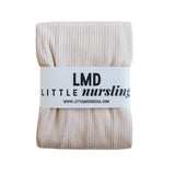 Little Nursling™ Knit Jersey Swaddle Baby Blanket | Latte Rib