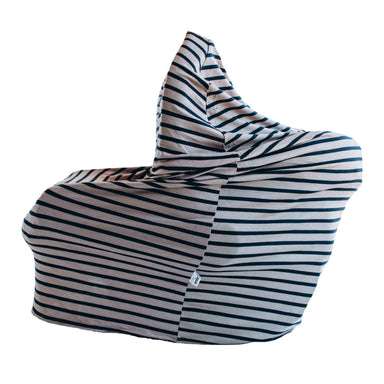 Little Nursling™ Multi-Use Cover | Taupe & Navy Stripe