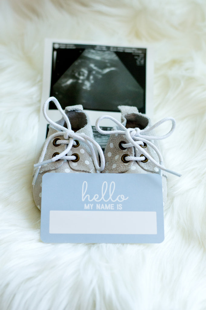 Newborn Name Announcement Stickers - Buy Online