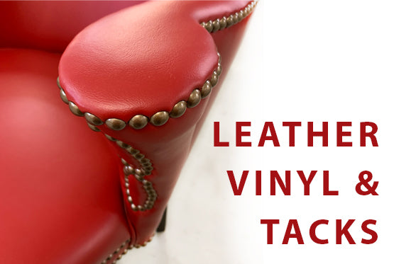 Upholstery Vinyl and Decorative Tacks Explained | Spokane WA