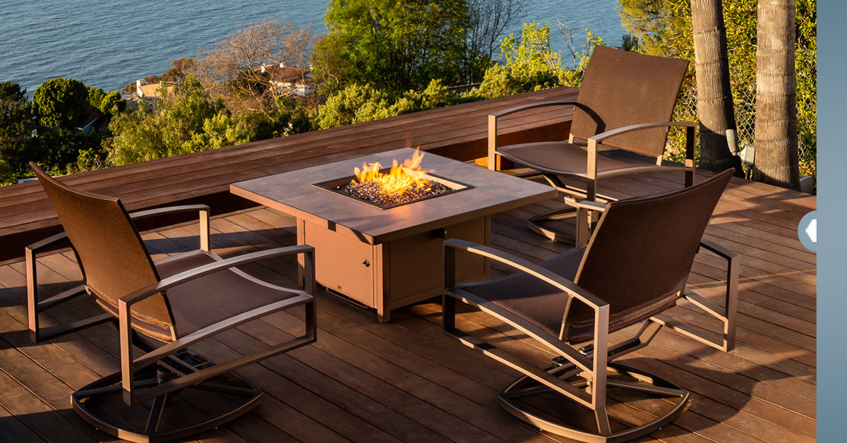 luxury outdoor patio furniture at jacobs custom living spokane wa