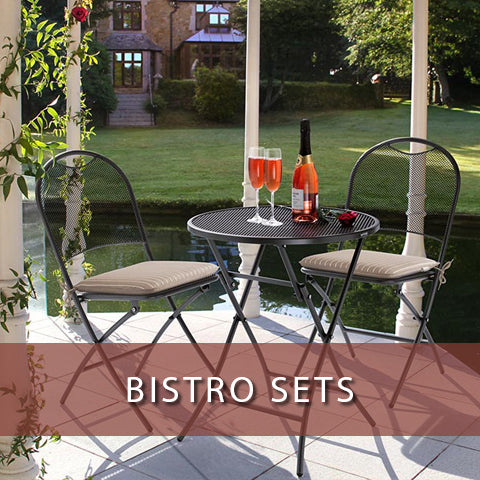 Bistro sets at Jacobs Custom Living