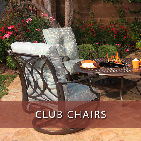 Club chairs at Jacobs Custom Living