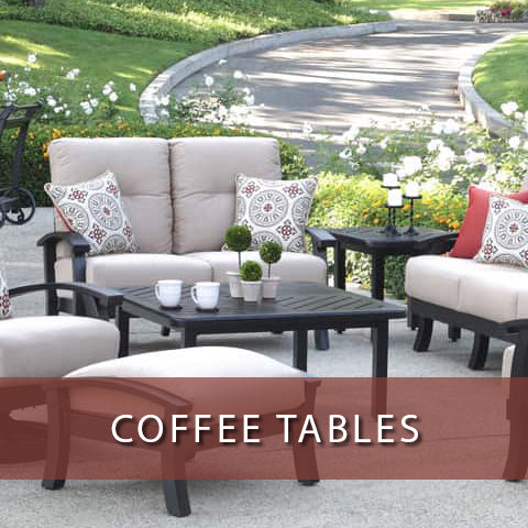 Coffee tables at Jacobs Custom Living