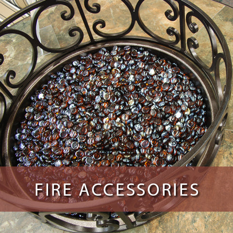 Fire accessories at Jacobs Custom Living