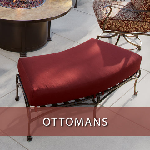 Ottomans at Jacobs Custom Living