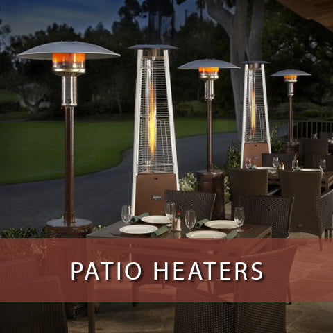 Patio Heaters at Jacobs Custom Living