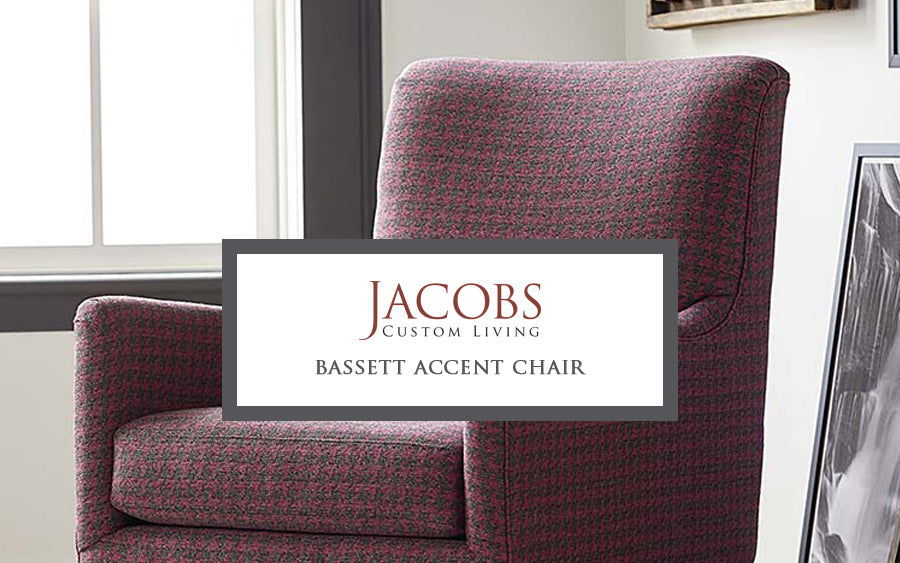 Bassett Accent Chair at Jacobs Custom Living
