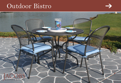 Outdoor Bistro At Jacobs Custom Living