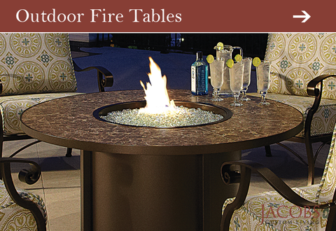 Fire Pits and Fire Tables at Jacobs Custom Living