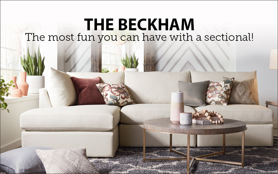 The Beckham Sectional at Jacobs Custom Living
