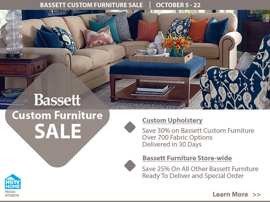 Bassett Custom Furniture Sale At Jacobs Custom Living