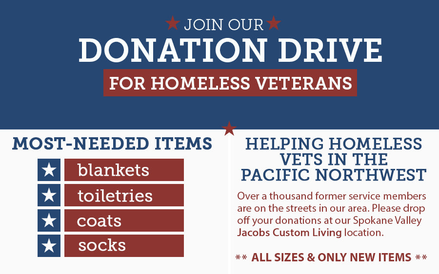 Veterans Homeless Donations