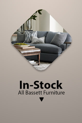 In stock Bassett Furniture at Jacobs Custom Living