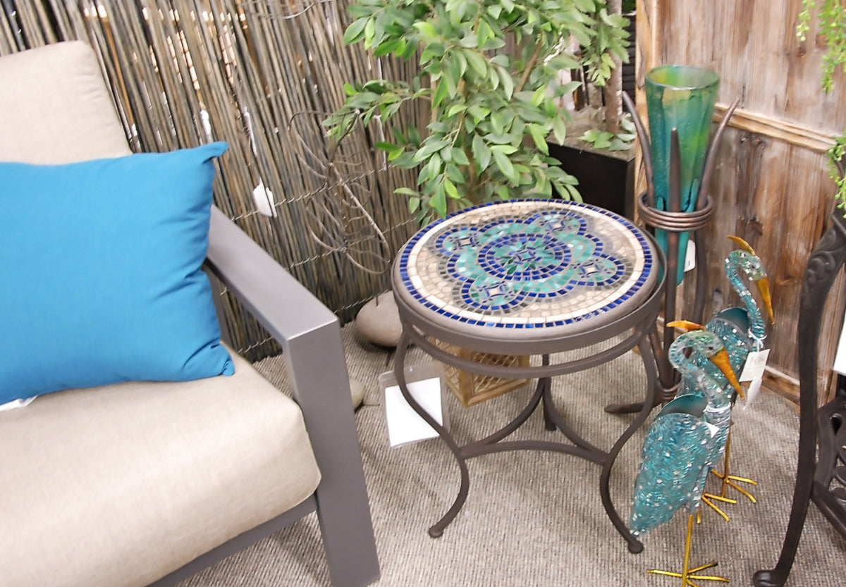 outdoor mosaics at jacobs custom living
