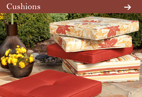Outdoor Patio Cushions at Jacobs Custom Living