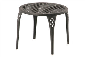 "Newport Outdoor Patio 21"" Round Tea Table"