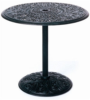 "Tuscany Outdoor Patio 30"" Round Pedestal Table"