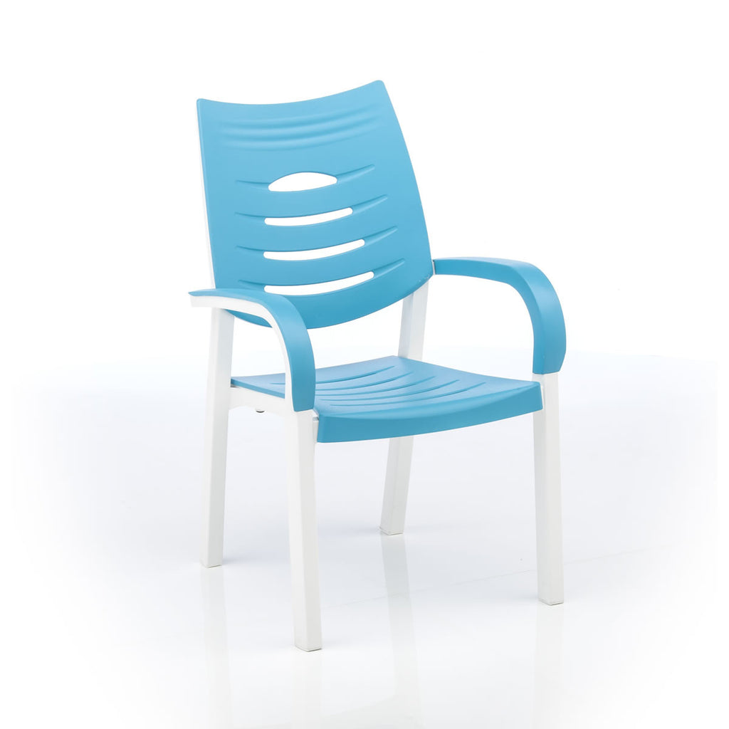 Happy Outdoor Patio Chair Turquoise - Outdoor Furniture, Indoor Furniture & Upholstery Store Spokane - Jacobs Custom Living
