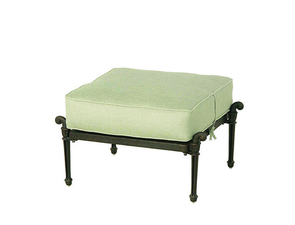 Grand Tuscany Outdoor Patio Ottoman - Outdoor Furniture, Indoor Furniture & Upholstery Store Spokane - Jacobs Custom Living