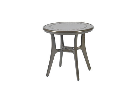 "Phoenix 22"" Outdoor Patio Round End Table"