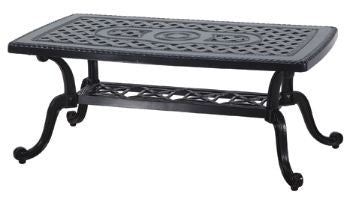 "Grand Terrace 24"" X 42"" Outdoor Patio Coffee Table"