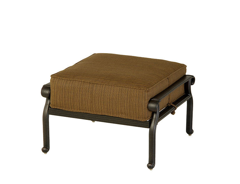 Mayfair Outdoor Patio Estate Ottoman