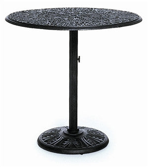 "Tuscany Outdoor Patio 42"" Round Pedestal Bar Height Table"