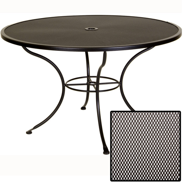 "48"" Micro Mesh Dining Table 48MMU-SP08 - Outdoor Furniture, Indoor Furniture & Upholstery Store Spokane - Jacobs Custom Living"