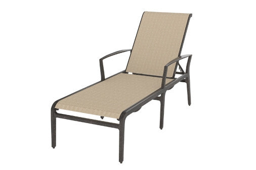 Phoenix Outdoor Patio Sling Chaise Lounge