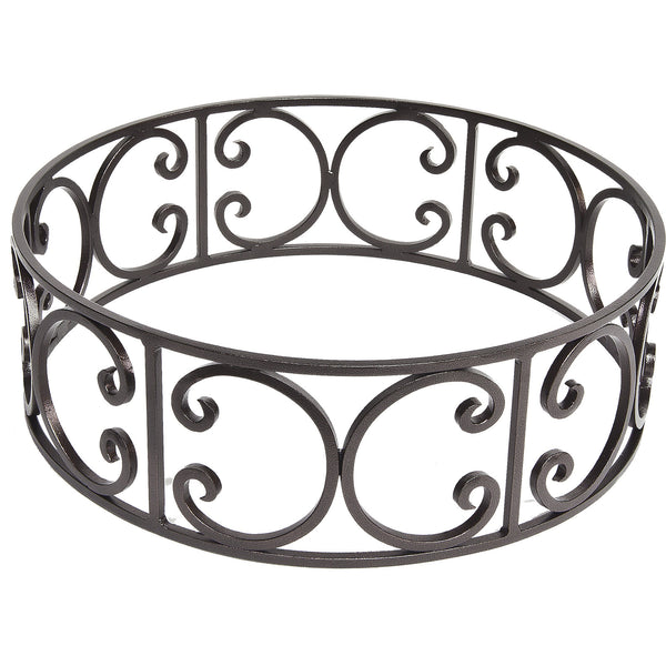 O.W. Lee Small Round Metal Fire Pit Guard  is available at Jacobs Custom Living.