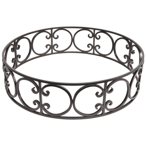 O.W. Lee Large Round Metal Fire Pit Guard  is available at Jacobs Custom Living.