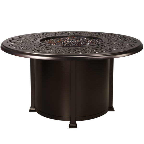 "Hacienda 54"" Dining Height Fire Table 51-14H-SP40 - Outdoor Furniture, Indoor Furniture & Upholstery Store Spokane - Jacobs Custom Living"