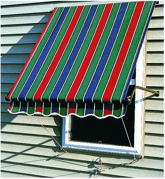 5700 Series Roll-Up Window Awning is available at Jacobs Custom Living our Jacobs Custom Living Spokane Valley showroom.