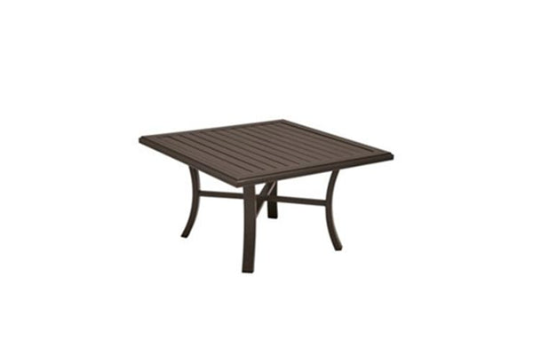 "Tropitone Banchetto 42"" Square Chat Table is available at Jacobs Custom Living in Spokane Valley WA"