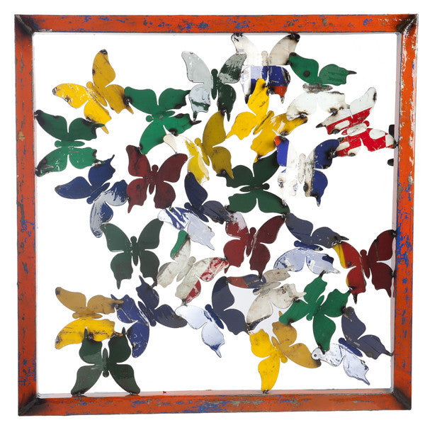 Butterfly Framed Wall Panel - Outdoor Furniture, Indoor Furniture & Upholstery Store Spokane - Jacobs Custom Living