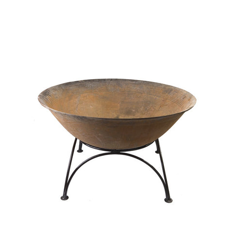 80cm Cast Iron Bowl Jacobs Custom Living