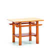 Greenington Lotus End Table Caramalized is available at Jacobs Custom Living.