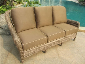 Captiva Outdoor Patio Sofa - Outdoor Furniture, Indoor Furniture & Upholstery Store Spokane - Jacobs Custom Living