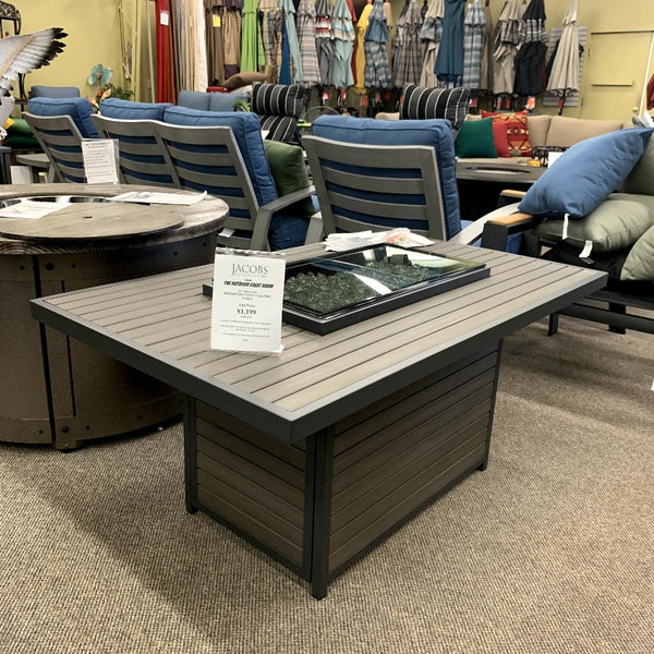 brooks fire pit table at jacobs custom living in spokane wa