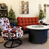 Pendleton Mini Monterra Swivel Lounge Patio Arm Chair at Jacobs Custom Living | Spokane Wa