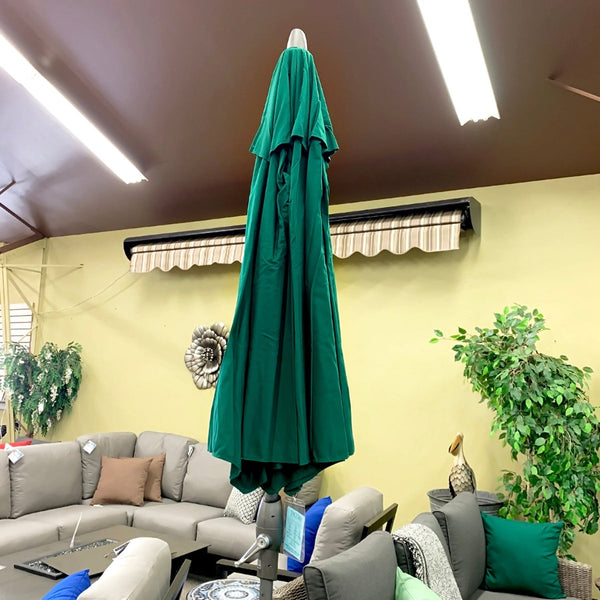 Treasure Garden 9' Forest Green Umbrella is available in our Jacobs Custom Living Spokane Valley showroom.